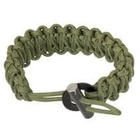 TBS 550 Paracord Firesteel Survival Bracelet - Adjustable and in a choice of colours
